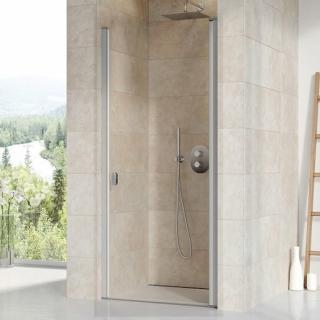 Sprchové dveře 90x195 cm Ravak Chrome chrom matný 0QV70U00Z1 satin