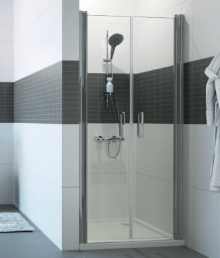 Sprchové dveře 90x200 cm Huppe Classics 2 chrom lesklý C23711.069.322 chrom chrom