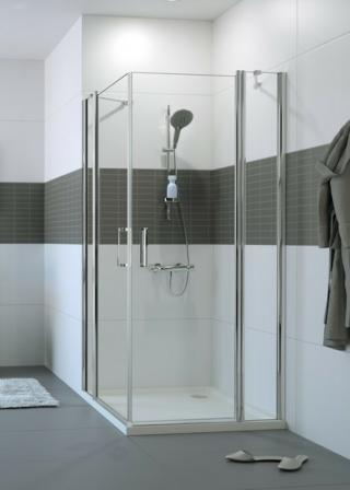 Sprchové dveře 90x90x200 cm Huppe Classics 2 chrom lesklý C23005.069.322 chrom chrom