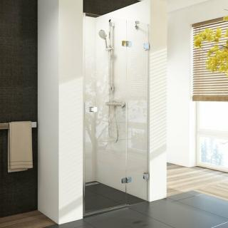 Sprchové dveře Ravak BSD2-80 A-R chrom transparent 0UP4AA00Z1