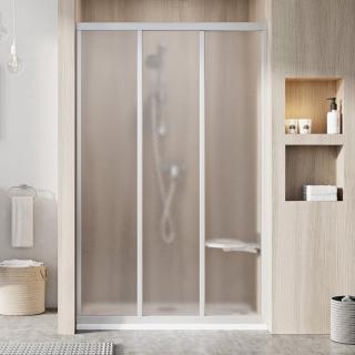 Sprchové dveře Walk-In / dveře 100 cm Ravak Supernova 00VA0UR2ZG Satin