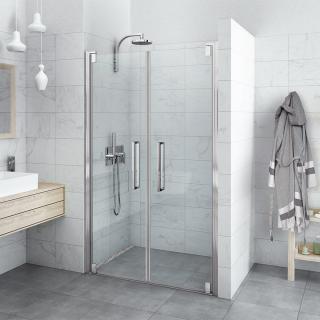 Sprchové dveře Walk-In / dveře 120 cm Roth Hitech Neo Line HI 2B2 12020 VPE