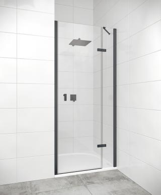 Sprchové dveře Walk-In / dveře 80 cm Huppe Strike New SIKOKHD80TCP černá