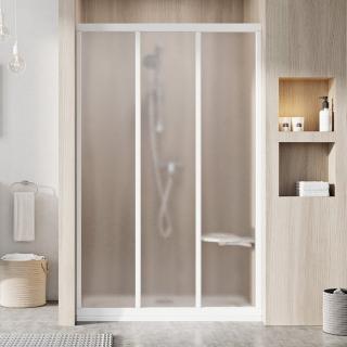 Sprchové dveře Walk-In / dveře 80 cm Ravak Supernova 00V401R2ZG Bílá