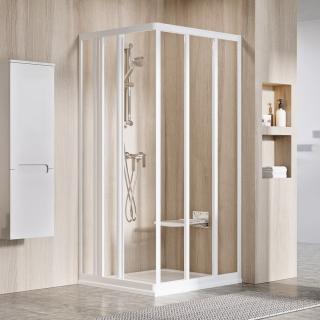 Sprchové dveře Walk-In / dveře 80 cm Ravak Supernova 15V401R2Z1 Bílá