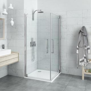 Sprchové dveře Walk-In / dveře 80 cm Roth Hitech Neo Line HI PI2 08020 VPE