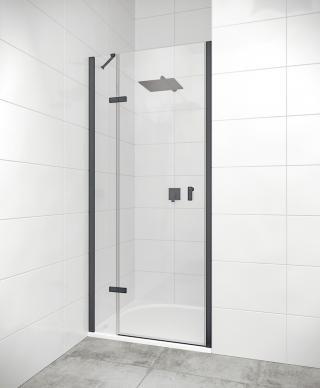 Sprchové dveře Walk-In / dveře 90 cm Huppe Strike New SIKOKHD90TCL černá