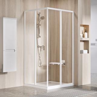 Sprchové dveře Walk-In / dveře 90 cm Ravak Supernova 14V701O2Z1 Bílá