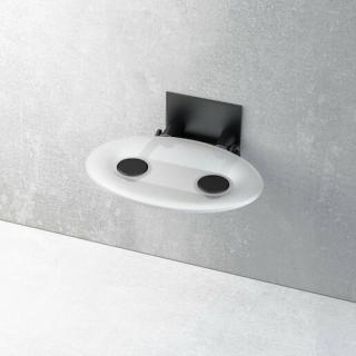 Sprchové sedátko Ravak Ovo P bílá/černá B8F0000043 bílá bílá