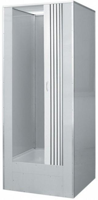 Sprchový box čtverec 81x81x212 cm Teiko DORA bílá V404080N00T22000