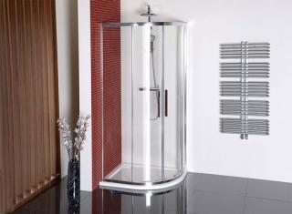 Sprchový kout asymetrický 120x90x200 cm Polysan LUCIS chrom lesklý DL5015