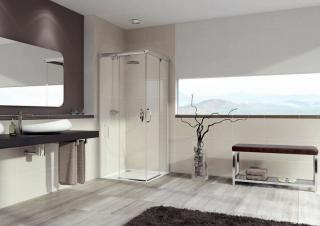 Sprchový kout čtverec 100x100x200 cm Huppe Aura elegance chrom lesklý 401310.092.322 chrom chrom