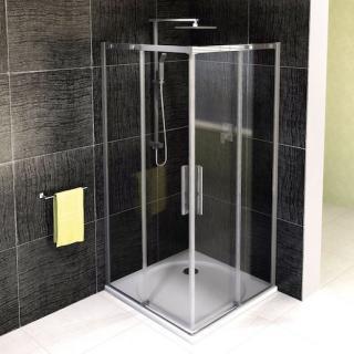 Sprchový kout čtverec 100x100x200 cm Polysan ALTIS chrom lesklý AL1715