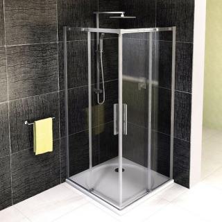 Sprchový kout čtverec 90x90x200 cm Polysan ALTIS chrom lesklý AL1615