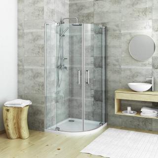 Sprchový kout čtvrtkruh 100x100 cm Roth Elegant Neo Line 187-1100000-00-02