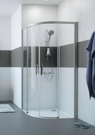 Sprchový kout čtvrtkruh 90x90x200 cm Huppe Classics 2 chrom lesklý C25502.069.322 chrom chrom