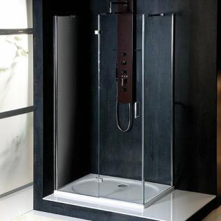 Sprchový kout obdélník 100x70x200 cm levá Polysan VITRA chrom lesklý BN7215L