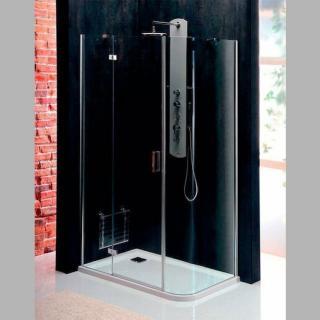 Sprchový kout obdélník 100x80x200 cm levá Polysan VITRA chrom lesklý BN2218L