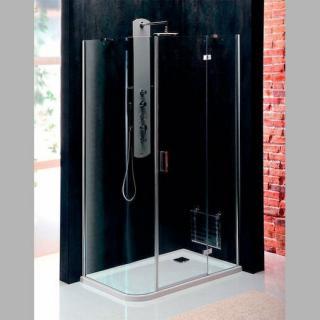 Sprchový kout obdélník 100x80x200 cm pravá Polysan VITRA chrom lesklý BN2218R