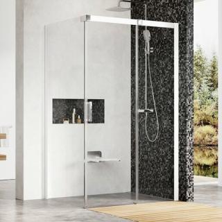 Sprchový kout obdélník 110x195 cm pravá Ravak Matrix bílá 0WPD4100Z1