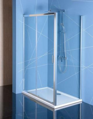 Sprchový kout obdélník 110x90x200 cm Polysan Easy chrom lesklý EL1115EL3315