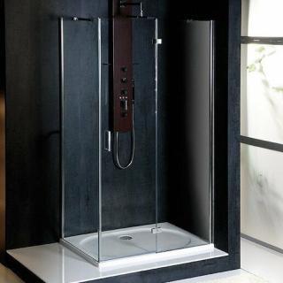 Sprchový kout obdélník 80x90x200 cm pravá Polysan VITRA chrom lesklý BN8015R