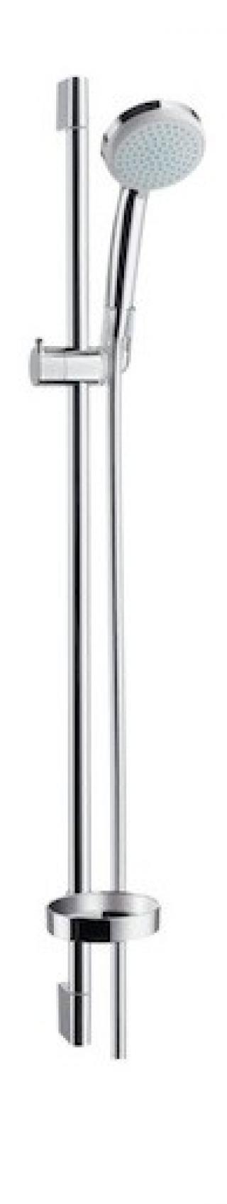 Sprchový set Hansgrohe Croma 100 s mýdlenkou chrom 27653000 chrom chrom