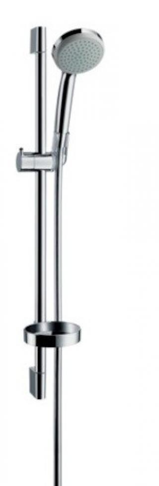 Sprchový set Hansgrohe Croma 100 s mýdlenkou chrom 27717000 chrom chrom