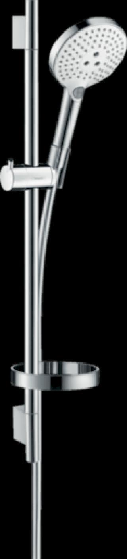 Sprchový set Hansgrohe Raindance Select S s mýdlenkou bílá/chrom 26630400 chrom bílá