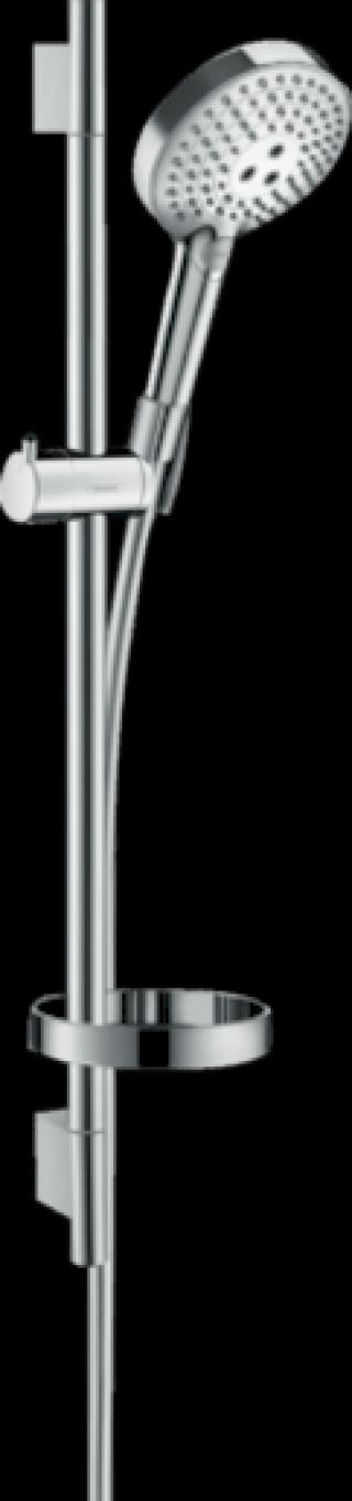 Sprchový set Hansgrohe Raindance Select S s mýdlenkou chrom 27654000 chrom chrom