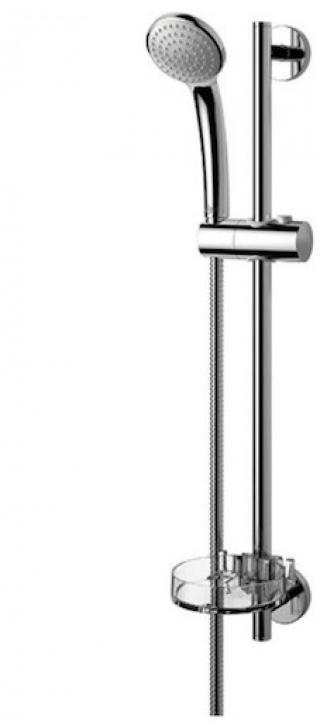 Sprchový set Ideal Standard Idealrain na stěnu s mýdlenkou chrom B9501AA chrom chrom