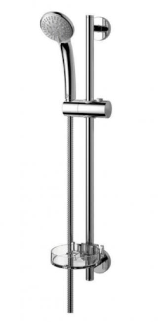 Sprchový set Ideal Standard Idealrain na stěnu s mýdlenkou chrom B9503AA chrom chrom