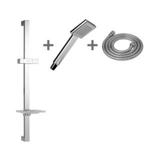 Sprchový set Jika Cubito na stěnu s mýdlenkou chrom H3604210040411 chrom chrom