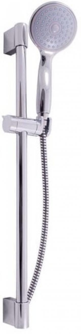 Sprchový set RAV SLEZÁK s držákem sprchy a sprchovou hadicí chrom SK0007 chrom chrom