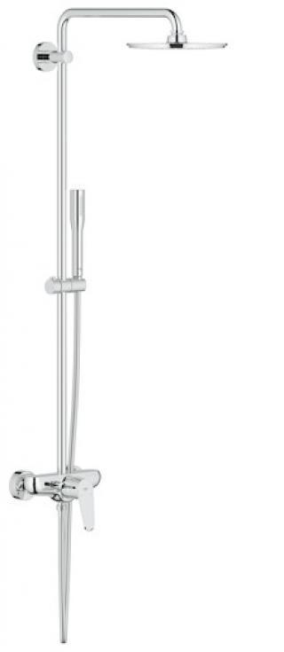 Sprchový systém Grohe Euphoria System s pákovou baterií chrom 23058003 chrom chrom