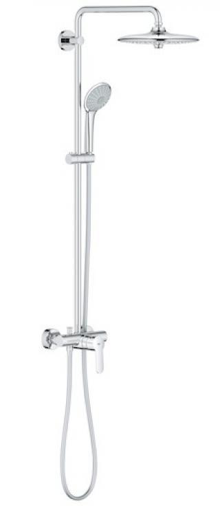 Sprchový systém Grohe Euphoria System s pákovou baterií chrom 27473001 chrom chrom