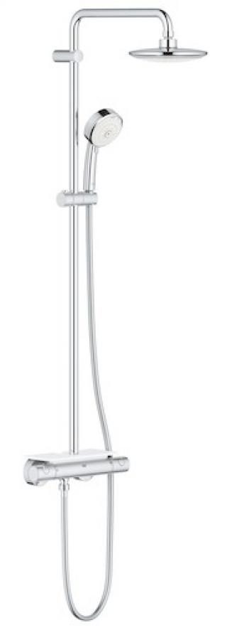 Sprchový systém Grohe Euphoria System s termostatickou baterií chrom 26249000 chrom chrom