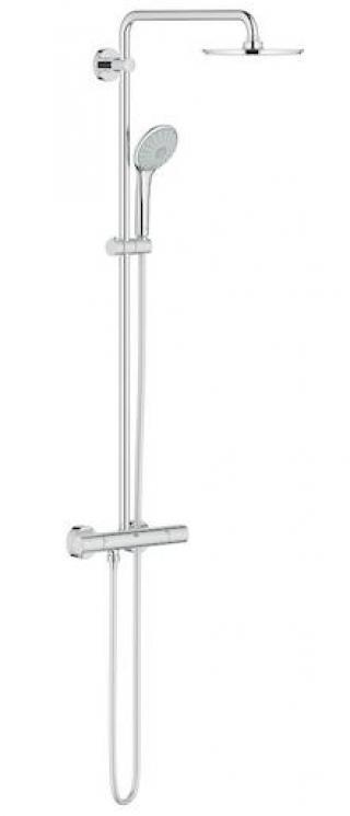 Sprchový systém Grohe Euphoria System s termostatickou baterií chrom 26383000 chrom chrom