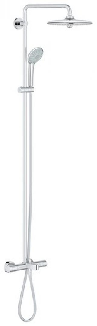 Sprchový systém Grohe Euphoria System s termostatickou baterií chrom 27475001 chrom chrom