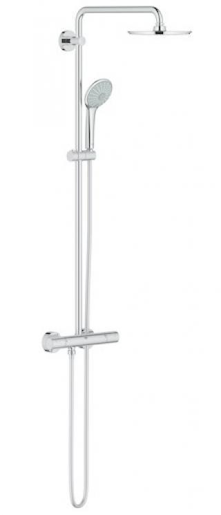 Sprchový systém Grohe Euphoria System s termostatickou baterií chrom 27964000 chrom chrom