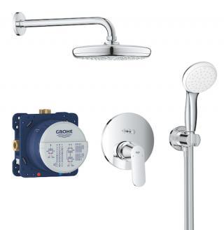 Sprchový systém Grohe Eurosmart Cosmopolitan včetně podomítkového tělesa chrom 25219001 chrom chrom