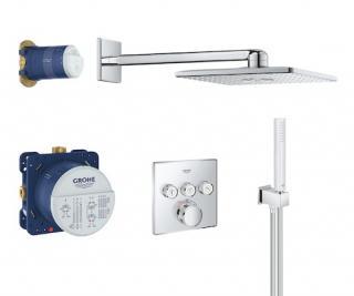 Sprchový systém Grohe Grohtherm SmartControl s termostatickou baterií chrom 34706000 chrom chrom