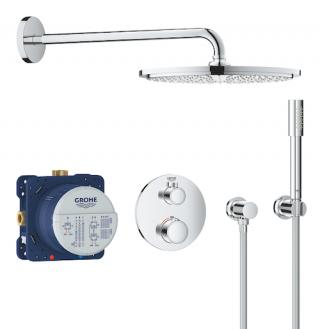 Sprchový systém Grohe Grohtherm včetně podomítkového tělesa chrom 34731000 chrom chrom