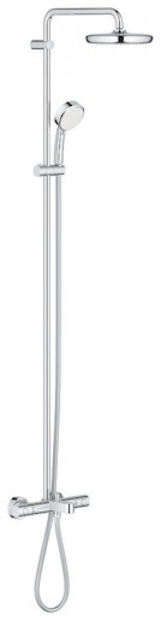 Sprchový systém Grohe New Tempesta Cosmop. System s termostatickou baterií chrom 26223001 chrom chrom