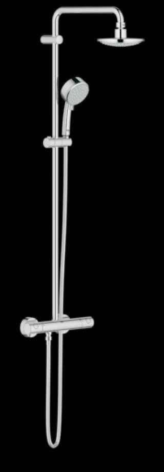 Sprchový systém Grohe New Tempesta Cosmop. System s termostatickou baterií chrom 27922000 chrom chrom