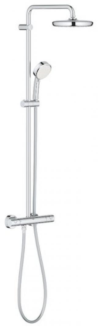 Sprchový systém Grohe New Tempesta Cosmop. System s termostatickou baterií chrom 27922001 chrom chrom