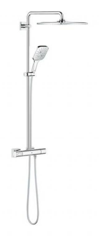 Sprchový systém Grohe RAINSHOWER SmartActive Cube na stěnu s termostatickou baterií chrom 26649000 chrom chrom