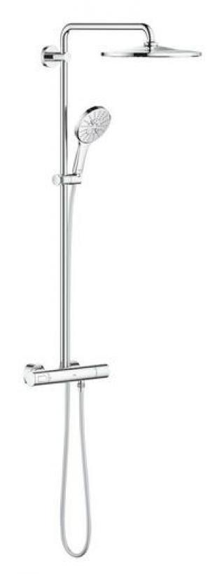Sprchový systém Grohe RAINSHOWER SmartActive na stěnu s termostatickou baterií chrom 26648000 chrom chrom