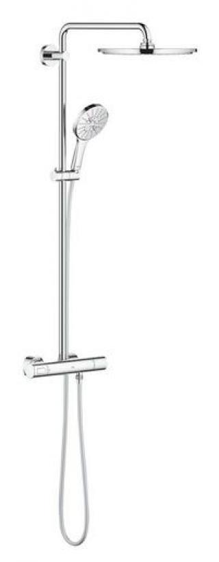 Sprchový systém Grohe RAINSHOWER SmartActive na stěnu s termostatickou baterií chrom 27966001 chrom chrom
