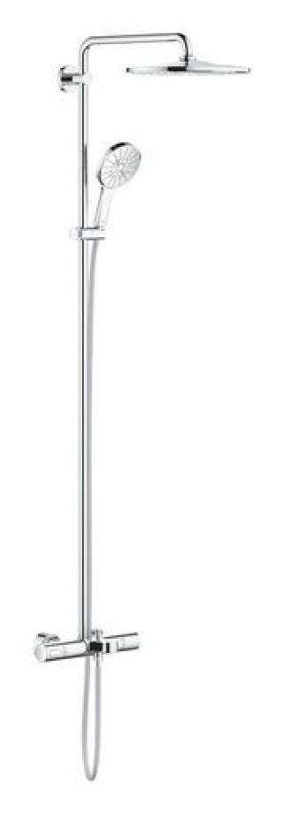 Sprchový systém Grohe RAINSHOWER SmartActive na stěnu s vanovým termostatem chrom 26657000 chrom chrom